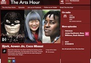 British Chinese Artist Aowen Jin interviewed on BBC Arts Hour
