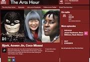 接受英国国家电视台BBC主打艺术节目《艺术时钟》采访