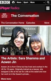 座谈英国国家电视台BBC《对话》节目
