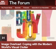 Aowen talks about image overload on BBC World Service Forum