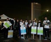 Aowen set up a volunteer programme for British Chinese volunteers at Birmingham Hippodrome