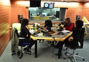 British Chinese Artist Aowen Jin interviewed on BBC World Service