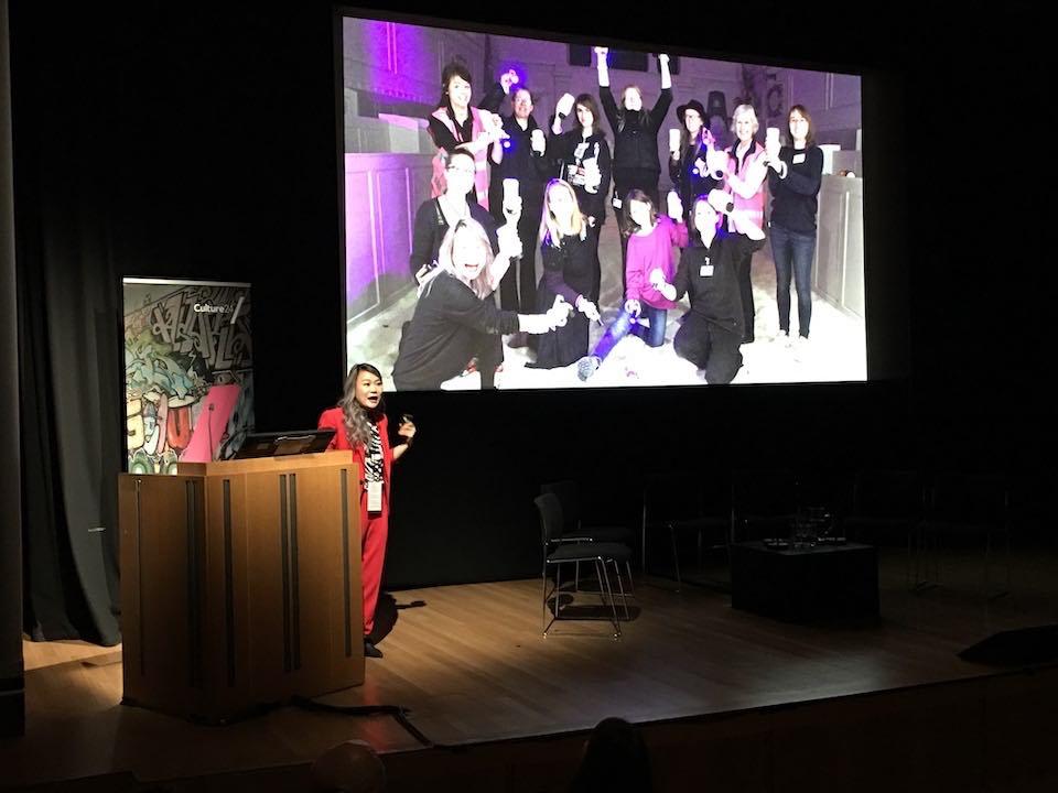 英国国家艺术馆《全国艺术、博物馆活动大会》演讲