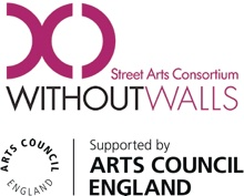 Aowen runs a series of workshops for Without Walls, the British Art Council and Birmingham Hippodrome